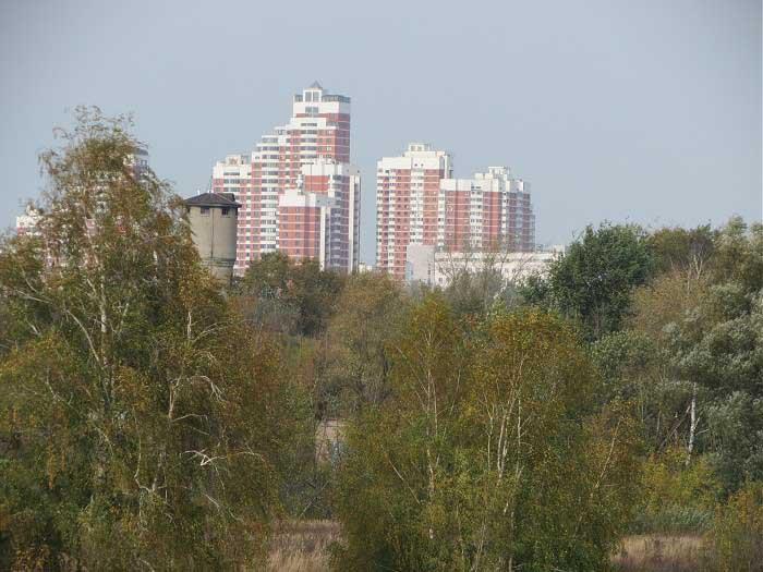 Москва река у филевского парка